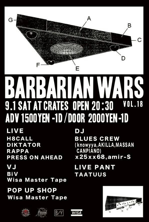 BARBARIAN WARS